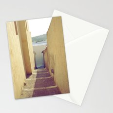 Yellow Path Stationery Cards