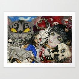 Alice the madness returns Art Print