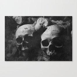 Catacombes Canvas Print