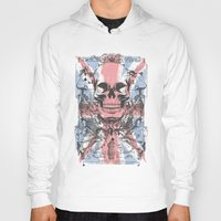 uk Hoodies featuring UK skull by Tshirt-Factory