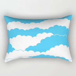 Blue Sky Rectangular Pillow