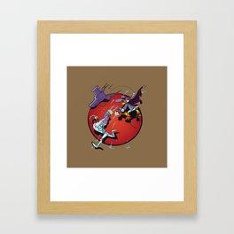 darkwing Jim Framed Art Print