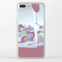 Modern Problems  (LOST DRONE) Clear iPhone Case