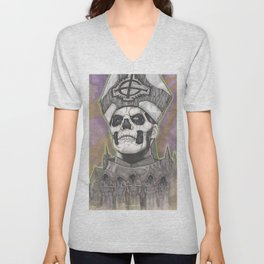 Ghost Papa Emeritus II Unisex V-Neck