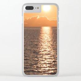 Asymmetrical Glow Clear iPhone Case