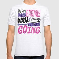 No Earthly Way... Mens Fitted Tee Ash Grey SMALL