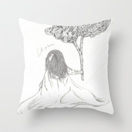 Let's Go Home Throw Pillow