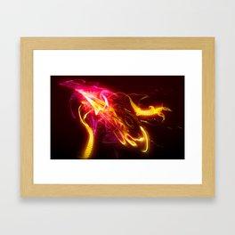 Insidious Pulse Framed Art Print