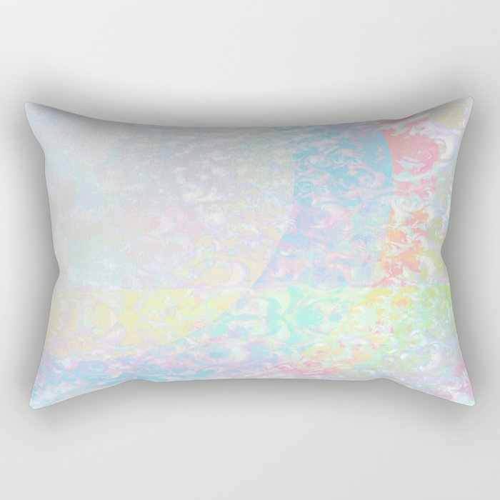 The Grey Area Rectangular Pillow