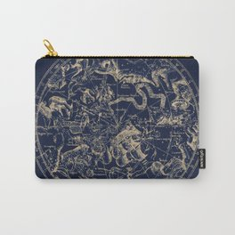 Gold Ceiling | Zodiac Skies Carry-All Pouch