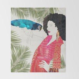 Rainforest Vogue Throw Blanket