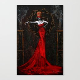 The Empress of Dust Canvas Print