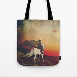 Don Quijote - Pillow Set (Left Part) Tote Bag