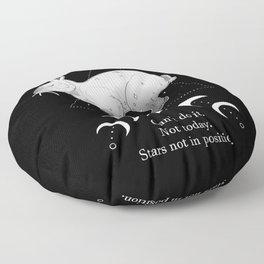 Not Today. Floor Pillow