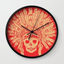 KC Headdress Wall Clock