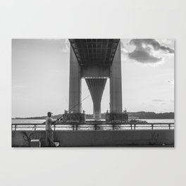 Under the Verrazano Canvas Print
