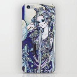 Madame Blue iPhone Skin