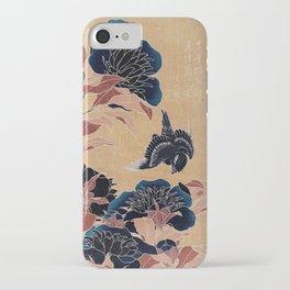 japanese flowers iPhone Case