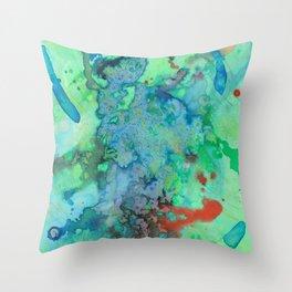 Vert Throw Pillow