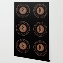 Raidho Elder Futhark Rune Travel, journey, vacation, relocation, evolution, change of place Wallpaper