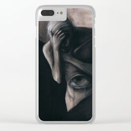 TEARS FROM THE VISCERAL EYE Clear iPhone Case