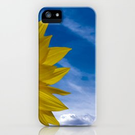 Concept Sunflower Greetingcards iPhone Case