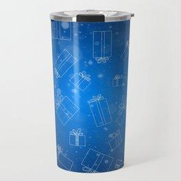 Christmas Presents Design Travel Mug