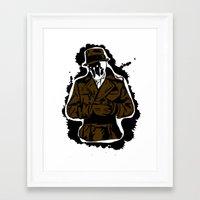 watchmen Framed Art Prints featuring  Rorschach (Watchmen) by  Steve Wade ( Swade)