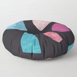 1996 gem stone collection Floor Pillow