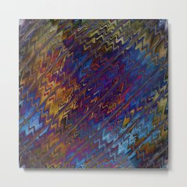 Apopcalyptic Nightmare Modern Abstract Metal Print