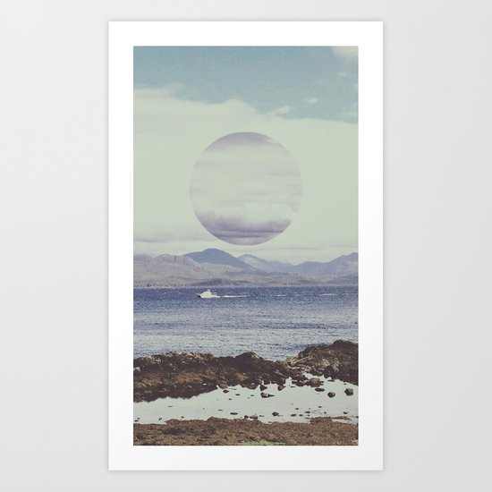 Waterside Art Print