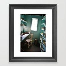Prison Kitchen Framed Art Print