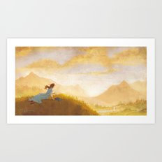 Great Big Somewhere Art Print
