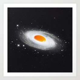 Cosmic Egg Art Print