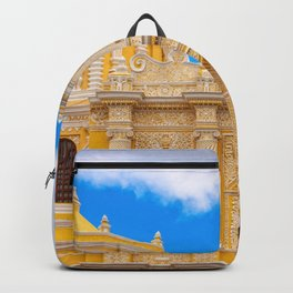 Cathedral in Antigua, Guatemala Backpack
