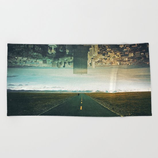 Roads Ahead Beach Towel