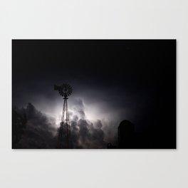Midnight Thunder Canvas Print