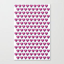 Kid Icarus Hearts x144 Canvas Print