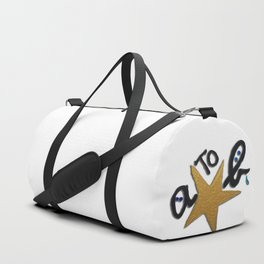 B FOR AGNES B - A STAR TO BE Duffle Bag