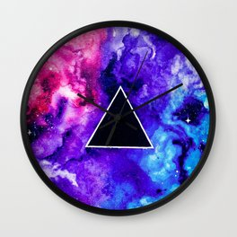 Black Hole Trinity Wall Clock