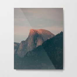 Half Dome Sunset in Yosemite Metal Print