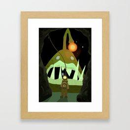 Find the Fish! Framed Art Print