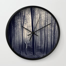 dArkWood enCounteR III Wall Clock