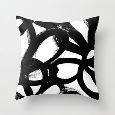 Wild tulips 6 Throw Pillow