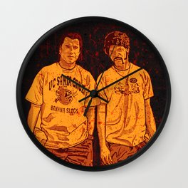 Pulp Fiction - Jules Winnfield & Vincent  Vega Wall Clock