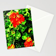 Red Flowers (Edited)  Stationery Cards