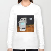 moonrise kingdom Long Sleeve T-shirts featuring Moonrise Kingdom by Veronique de Jong · illustration