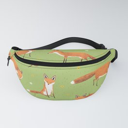 Red Foxes Fanny Pack