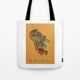 Islington - London Borough - Colour Tote Bag