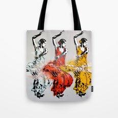 Las tres bailarinas Tote Bag